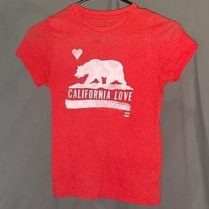 Billabong California Love print size medium